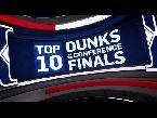 فلسطين اليوم - شاهد أفضل 10 دانك في دوري السلة الأميركي