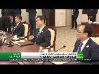 شاهد انتهاء المحادثات بين بيونغ يانغ وسول