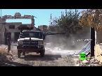 العرب اليوم - بالفيديو الجيش السوري يتقدم في حي بني زيد في حلب