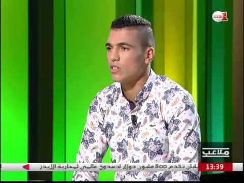 العرب اليوم - ربيعي يحكي تفاصيل نزاله ضد الأوزبكي في نصف النهائي