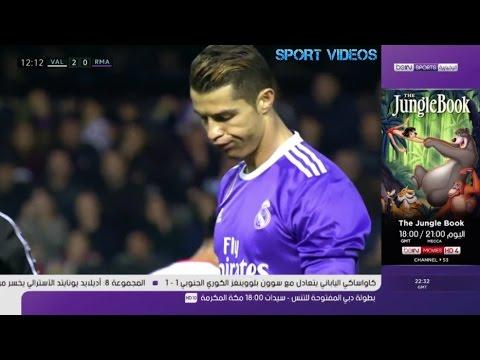 فلسطين اليوم - شاهد تقريربي إن سبورت عن فوز فالنسيا على ريال مدريد 21