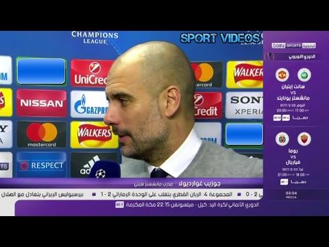 فلسطين اليوم - شاهد ماذا قال غوارديولا بعد الفوز المثير لـ مانشستر سيتي على موناكو