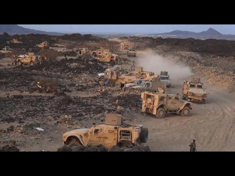 فلسطين اليوم - شاهد القوات الشرعية في اليمن تكثف عملياتها استعدادًا لعملية جديدة