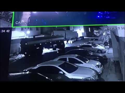 فلسطين اليوم - شاهد ريموت يحبط محاولة سرقة سيارات في الرياض