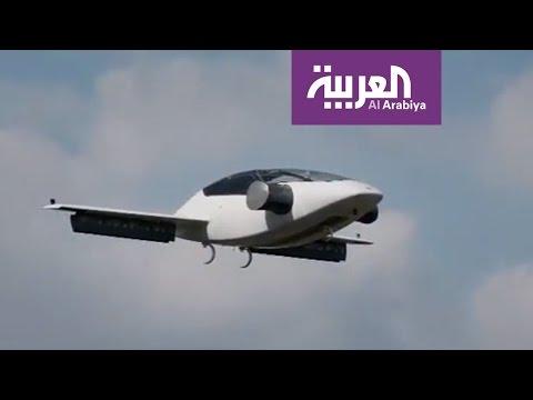 فلسطين اليوم - شاهد شركة ليليوم للطيران تقدم أول طائرة سيارة كهربائية
