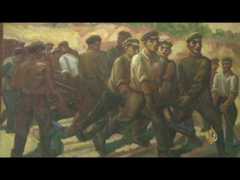 فلسطين اليوم - شاهد  معرض للفن الطليعي في العاصمة الروسية موسكو