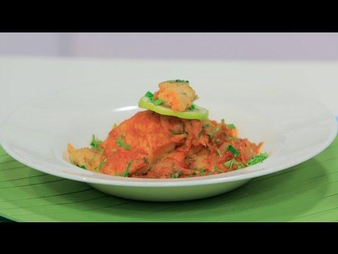 فلسطين اليوم - شاهد طريقة بسيطة لتحضير وجبة سمك بالكاري