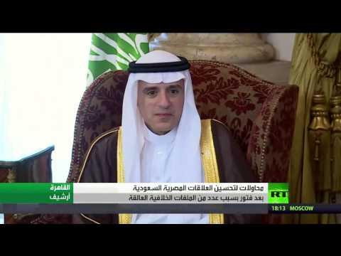 فلسطين اليوم - شاهد ملف العلاقات المصرية السعودية
