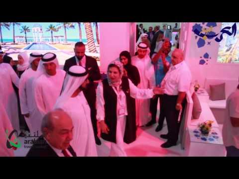 فلسطين اليوم - شاهد افتتاح معرض سوق السفر العربي في دبي 2017