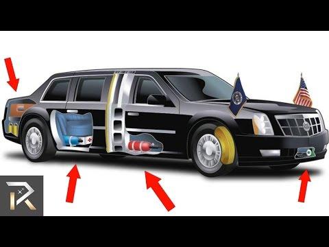 فلسطين اليوم - شاهد سيارة الرئيس الأميركي دونالد ترامب المضادة للهجمات النووية