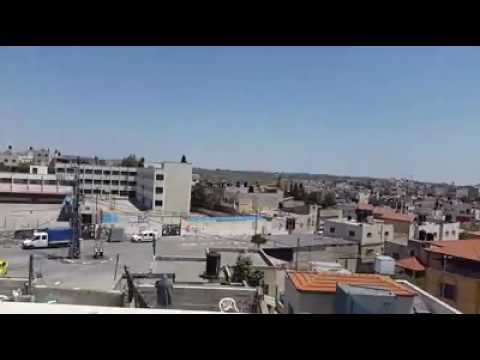 فلسطين اليوم - شاهد مساجد بلدة يعبد تصدح بالتكبير تضامنًا مع الأسرى
