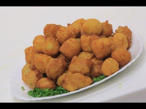 فلسطين اليوم - شاهد طريقة إعداد كرات البطاطس المقلية