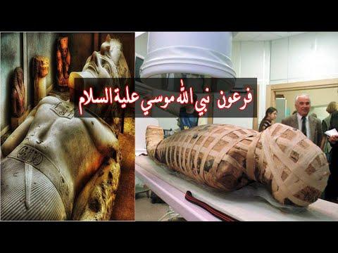 فلسطين اليوم - شاهد علماء يحددون شخصية فرعون نبي الله موسي