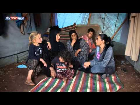 معاناة النازحين على الحدود السوريَّة  التركيَّة