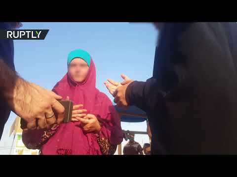فلسطين اليوم - الكشف عن صور جديدة لنزلاء مخيّم سري في العراق
