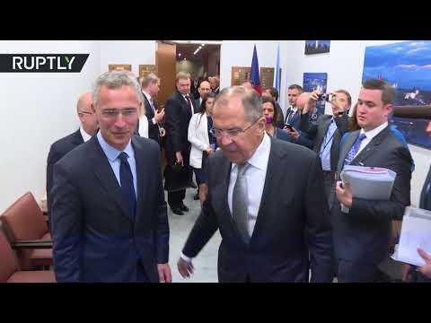فلسطين اليوم - شاهد لافروف يبحث مع ستولتنبرغ آفاق العلاقات بين روسيا وحلف الناتو