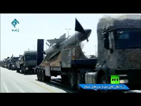 فلسطين اليوم - شاهد إيران تكشف عن صاروخ باليستي جديد مداه 2000 كم