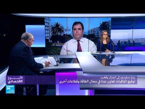 فلسطين اليوم - شاهد زيارة مدفيديف إلى الجزائر والمغرب