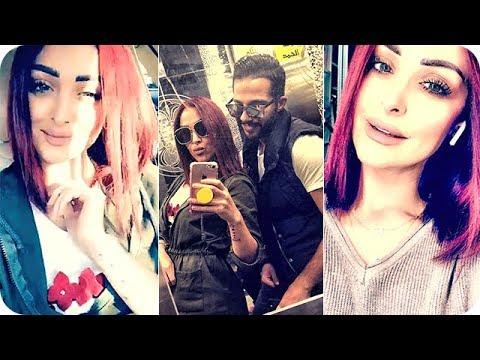 فلسطين اليوم - شاهد هيا كرزون تفاجئ الجميع بصبغ شعرها باللون الأحمر