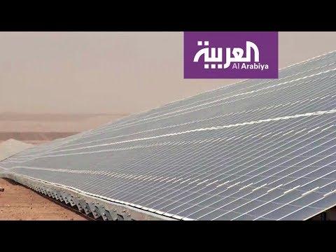 مشروع توليد الطاقة الشمسية في أكبر مخيمات اللاجئين السوريين