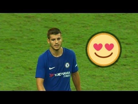 شاهد أفضل مهارات و أهداف النجم ألفارو موراتا في كرة القدم