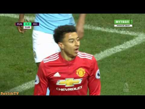 شاهد أهم اللقطات في مباراة مانشستر سيتي ومان يونايتد