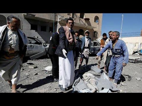 عشرات القتلى والجرحى في غارة جوية للتحالف على سجن بصنعاء