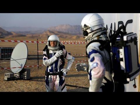 شاهد تجربة محاكاة للحياة على المريخ في صحراء النقب