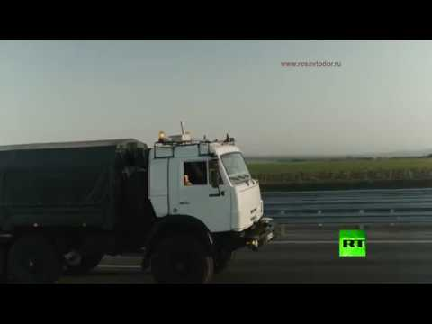مسؤول الروسي يشارك في اختبارات شاحنة كاماز ذاتية القيادة