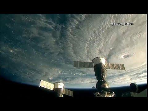 شاهد لقطات من محطّة الفضاء الدولية لإعصار لين المتوجه نحو هاواي