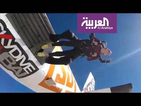 شاهد أول مدربة مصرية للقفز الحر بالمظلات تروي تجربتها كاملة