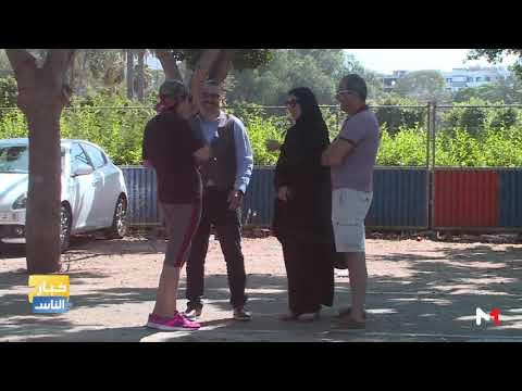 شاهد  زوج يضرب زوجته في الطريق العام لرصد ردود فعل المارة