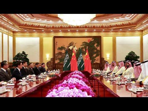 شاهد  السعودية والصين توقعان اتفاقيات اقتصادية بقيمة 28 مليار دولار