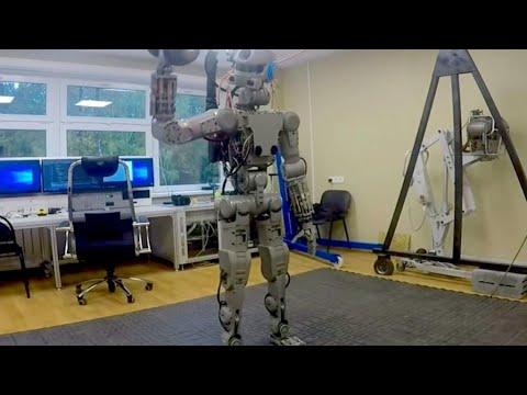 شاهد روبوت روسيا المُقاتل يستفز المُصنعين حول العالم