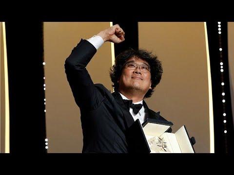 الفيلم الكوري الجنوبي باراسايت يفوز بالسعفة الذهبية في كان السينمائي