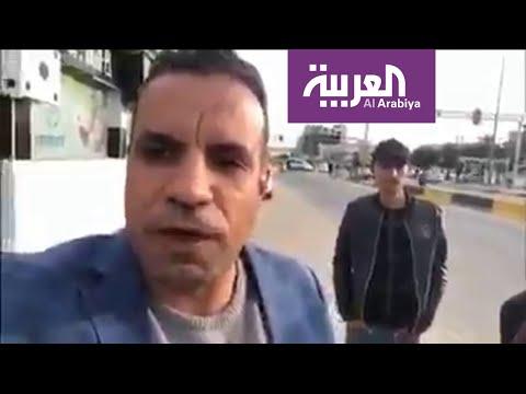 شاهد آخر ما قاله الصحافي أحمد عبدالصمد قبل اغتياله في البصرة
