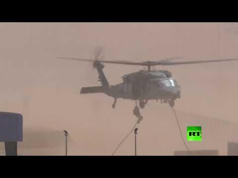 شاهد مناورات عسكرية مشتركة لقوات المارينز الأميركية والجيش الإماراتي