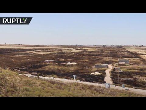 الحرائق تلتهم المئات من حقول القمح في سورية ومقتل شخصين