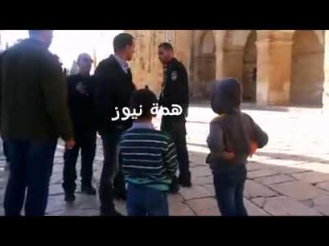الاحتلال الإسرائيلي يطرد أطفال فلسطينيين من الأقصى