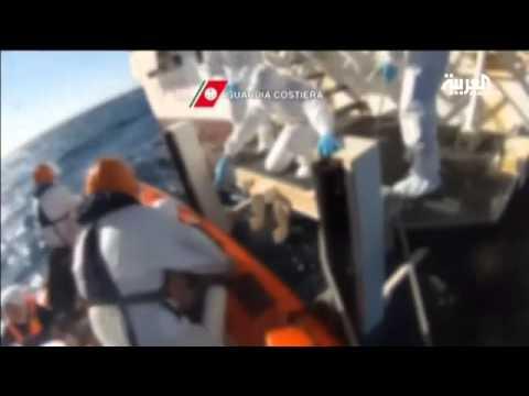 البحر المتوسط يبتلع 3419 مهاجرا في 2014