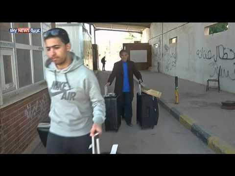 معبر رأس جدير الحدودي بين ليبيا وتونس يعود للعمل
