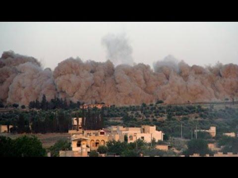 المعارضة السورية تسيطر على معسكر وادي الضيف