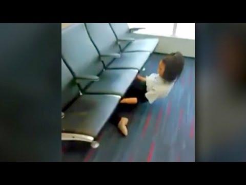 العرب اليوم - شاهد ملكة الليونة ترد على منتقديها بعرض مبهر في مطار فلادلفيا