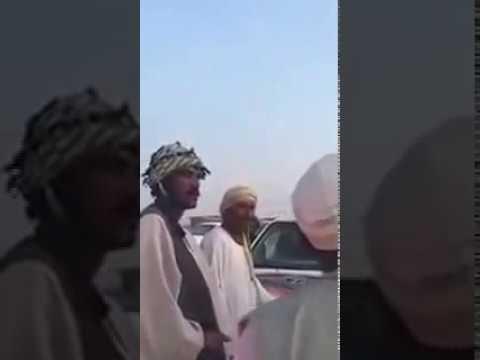 العرب اليوم - بالفيديو مواطن سوداني يعفو عن آخر سعودي بعد حادث سير