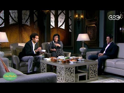 العرب اليوم - بالفيديو إسعاد يونس تأكل بعضًا من البصل الأخضر على الهواء مباشرة