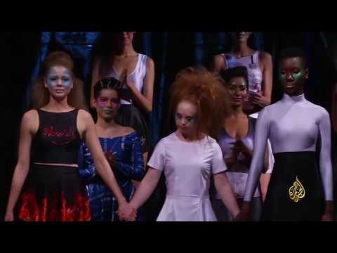 العرب اليوم - بالفيديو  مصابة بـمتلازمة داون تنظم عرض أزياء في نيويورك