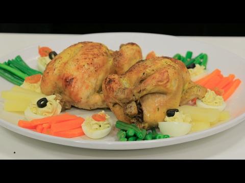 العرب اليوم - شاهد طريقة عمل دجاج محشي