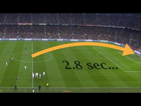 العرب اليوم - بالفيديو أسرع 10 أهداف في تاريخ كرة القدم حول العالم