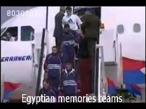 العرب اليوم - بالفيديو استقبال تاريخي لمنتخب مصر بعد الفوز في كأس أفريقيا 1998