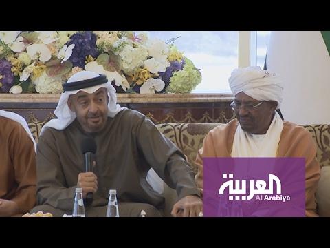 العرب اليوم - بالفيديو  ولي عهد أبوظبي يشيد بجهود السودان في التحالف العربي